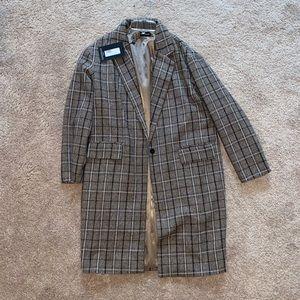 Plaid Brown Jacket